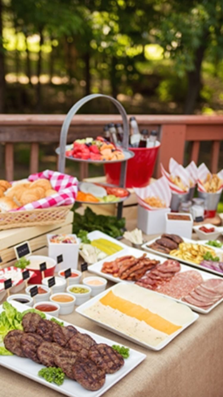 10 Pretty Bbq Party Ideas For Adults ideas to spice up your summer bbq featuring a gourmet burger bar