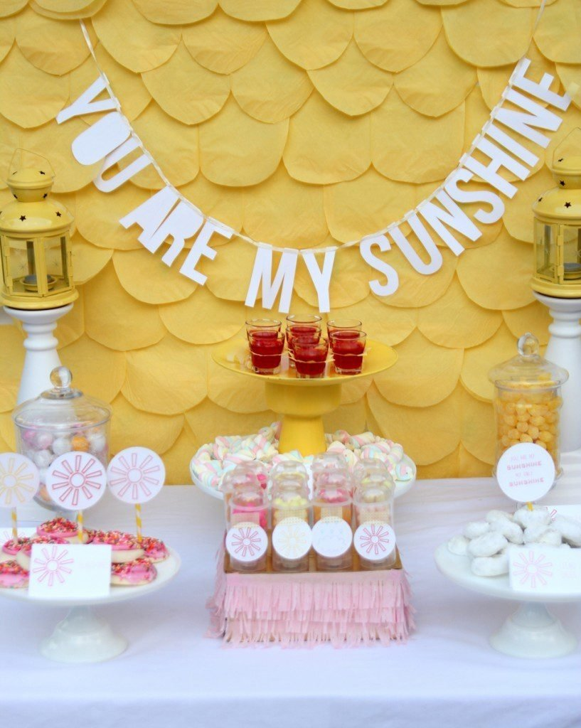 10 Stunning Pink And Yellow Baby Shower Ideas ideaslow baby shower grey and white chevron rubber ducky gray 2020
