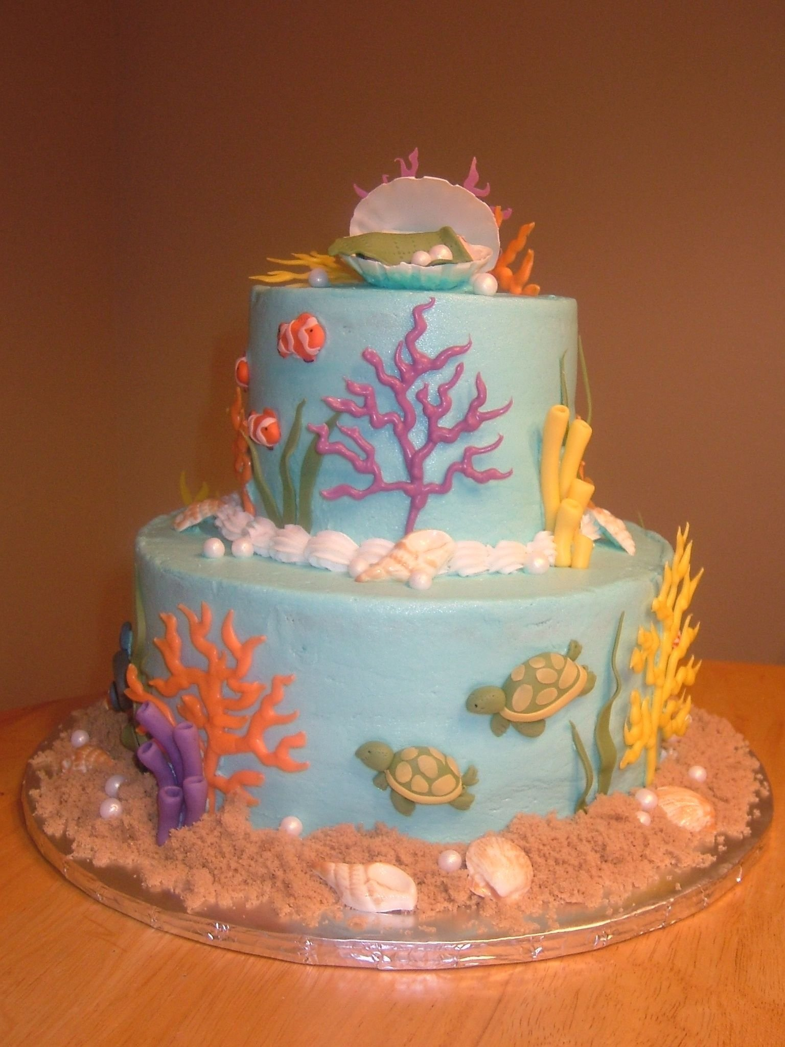 10 Nice Under The Sea Cake Ideas if we were going to do a cake some of these are great but i would 2021