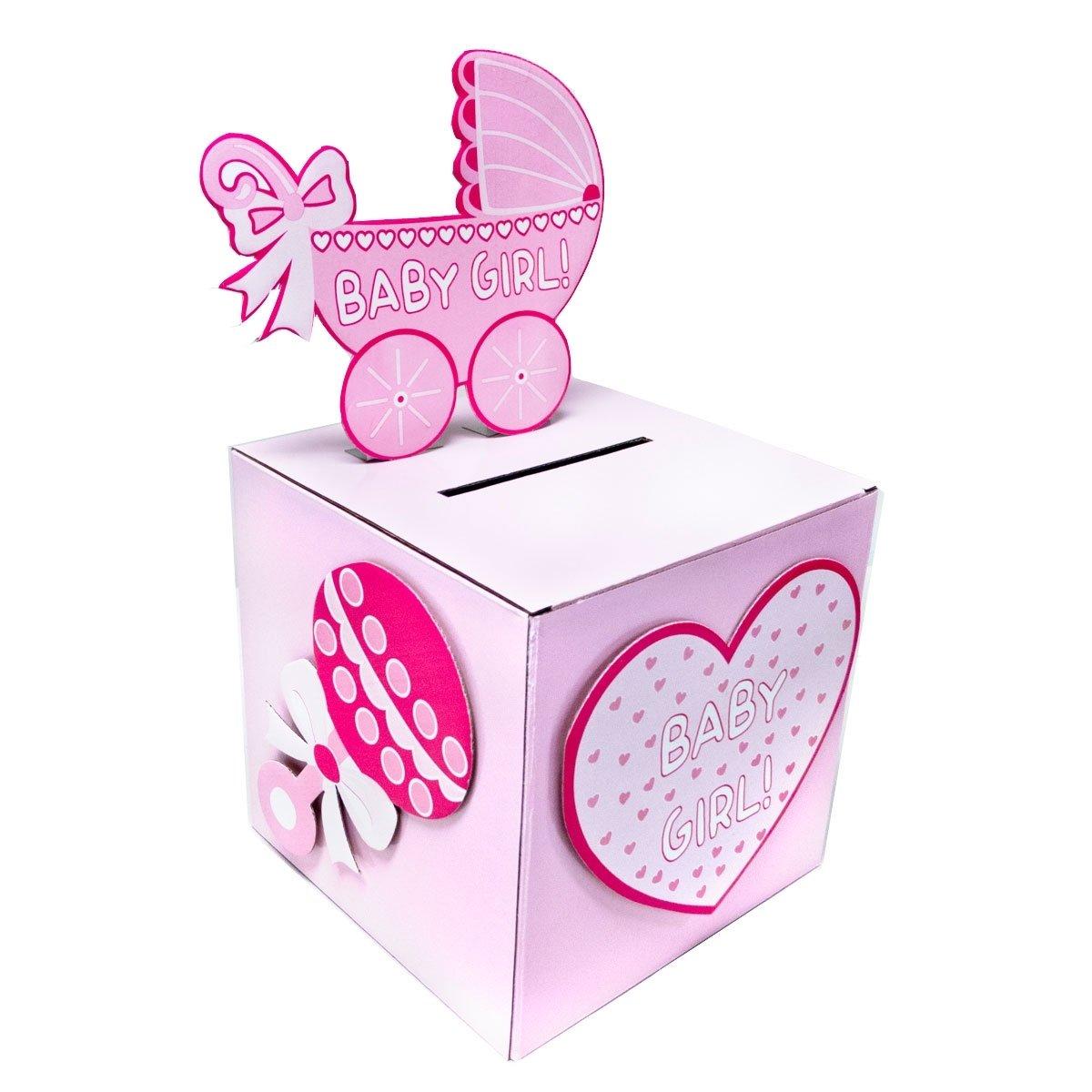 10 Fantastic Baby Shower Wishing Well Ideas ifavor123 babyshower wishing well card gift or money box girl 2020