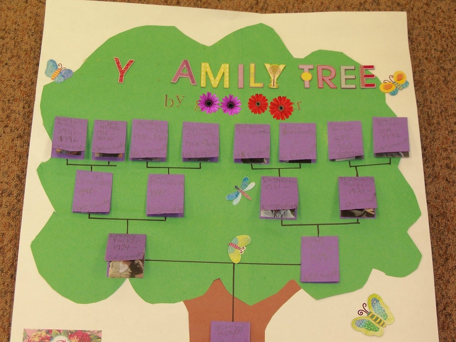 10 Famous Ideas For Family Tree Project image detail for project christmas tree style the decorations 1 2020