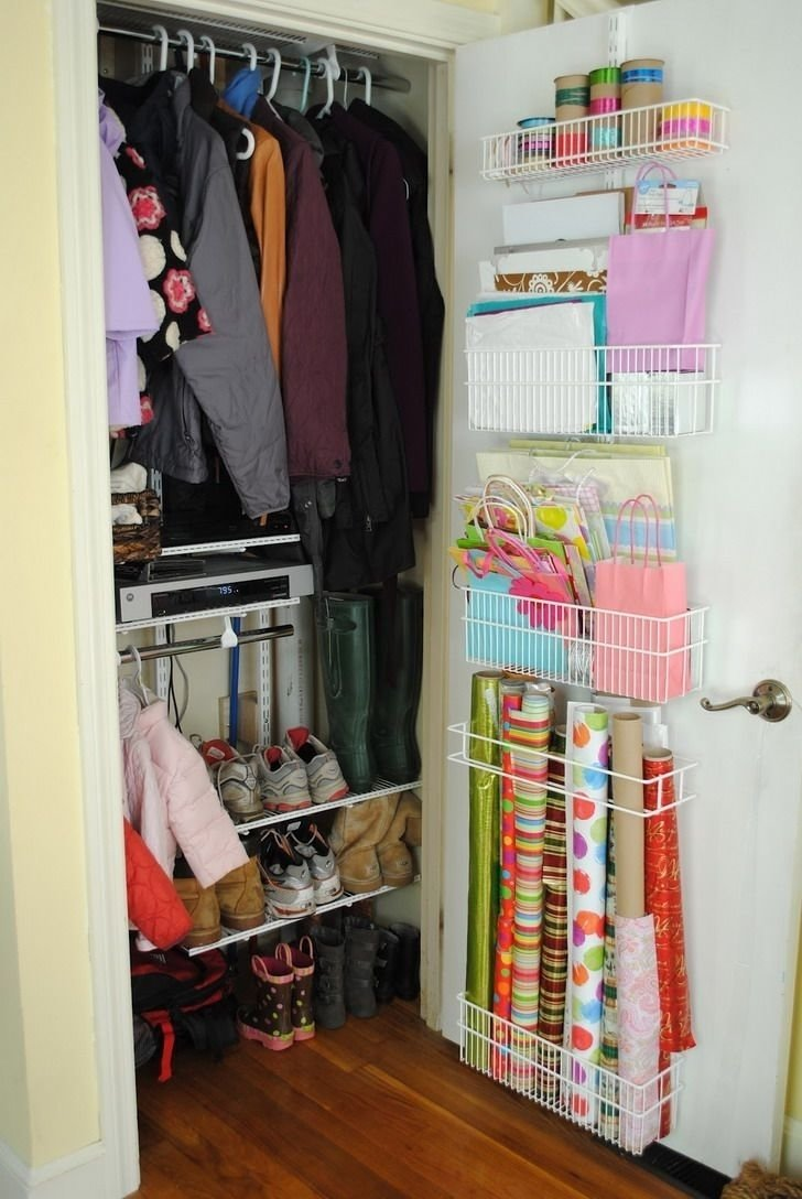 10 Attractive Closet Organization Ideas For Small Closets image of brilliant ideas how to organize my small closet organizing 2021
