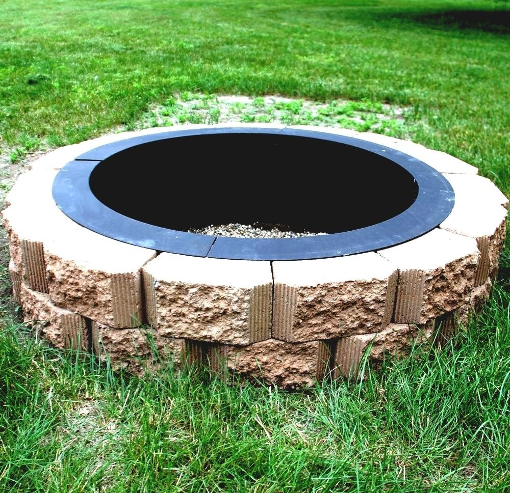 10 Fantastic In Ground Fire Pit Ideas image of in ground fire pit ideas ring garden design idea and 2020