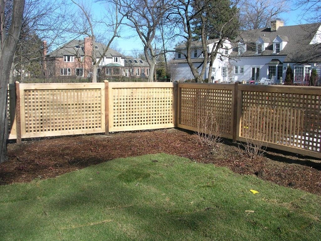 image privacy fence ideas for backyard : fence ideas - privacy fence