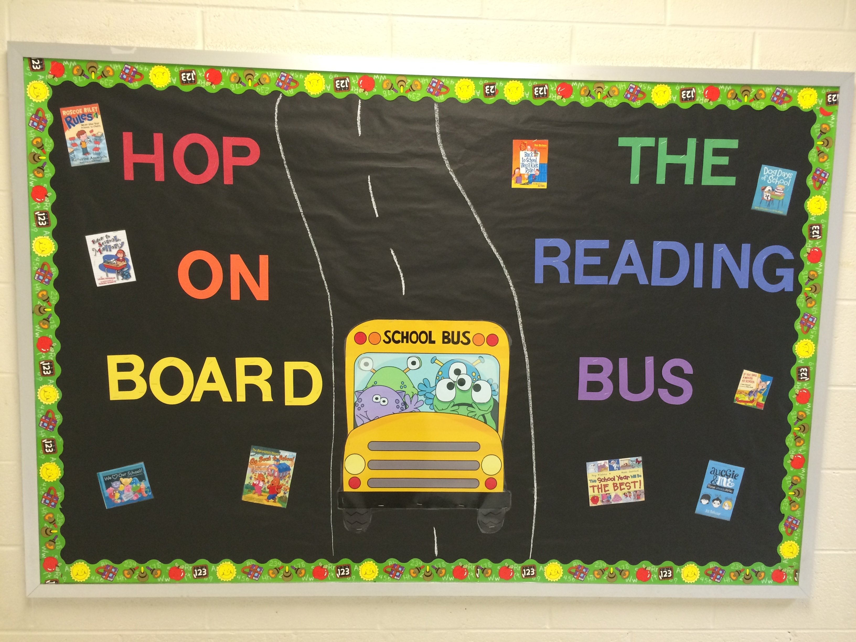 10 Fantastic First Day Of School Bulletin Board Ideas image result for back to school library bulletin boards library 2020