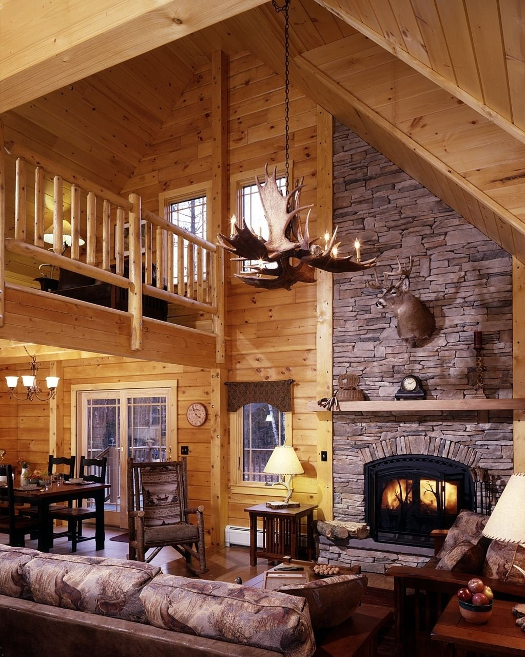 10 Most Popular Log Cabin Interior Design Ideas image result for beautiful abstract log cabin taiga eco house 2020