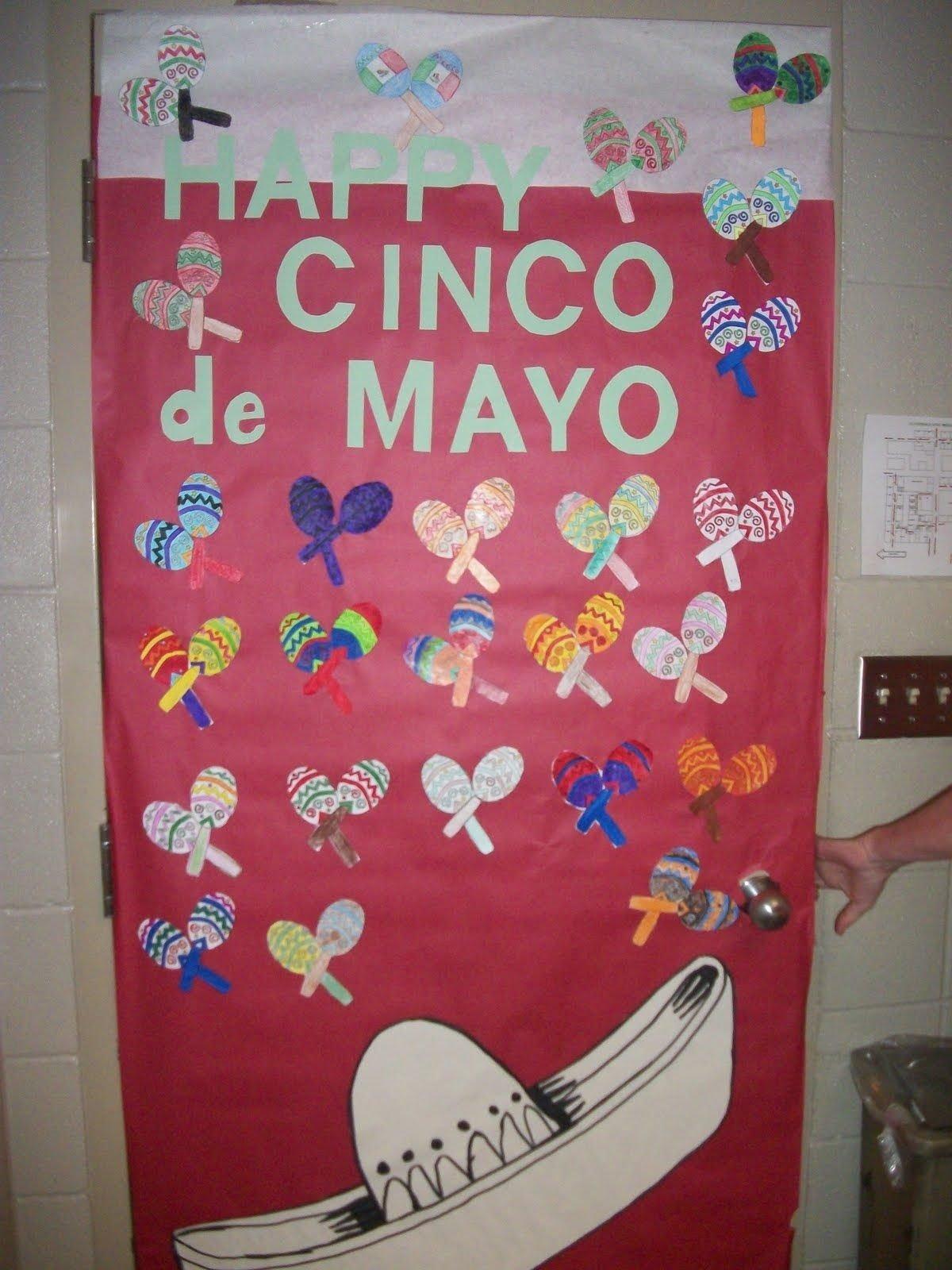 10 Fabulous Cinco De Mayo Bulletin Board Ideas image result for image of classroom door decorations for cinco de 2020