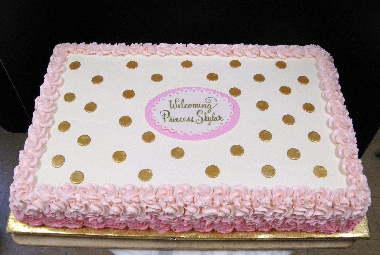 10 Nice Baby Shower Sheet Cake Ideas