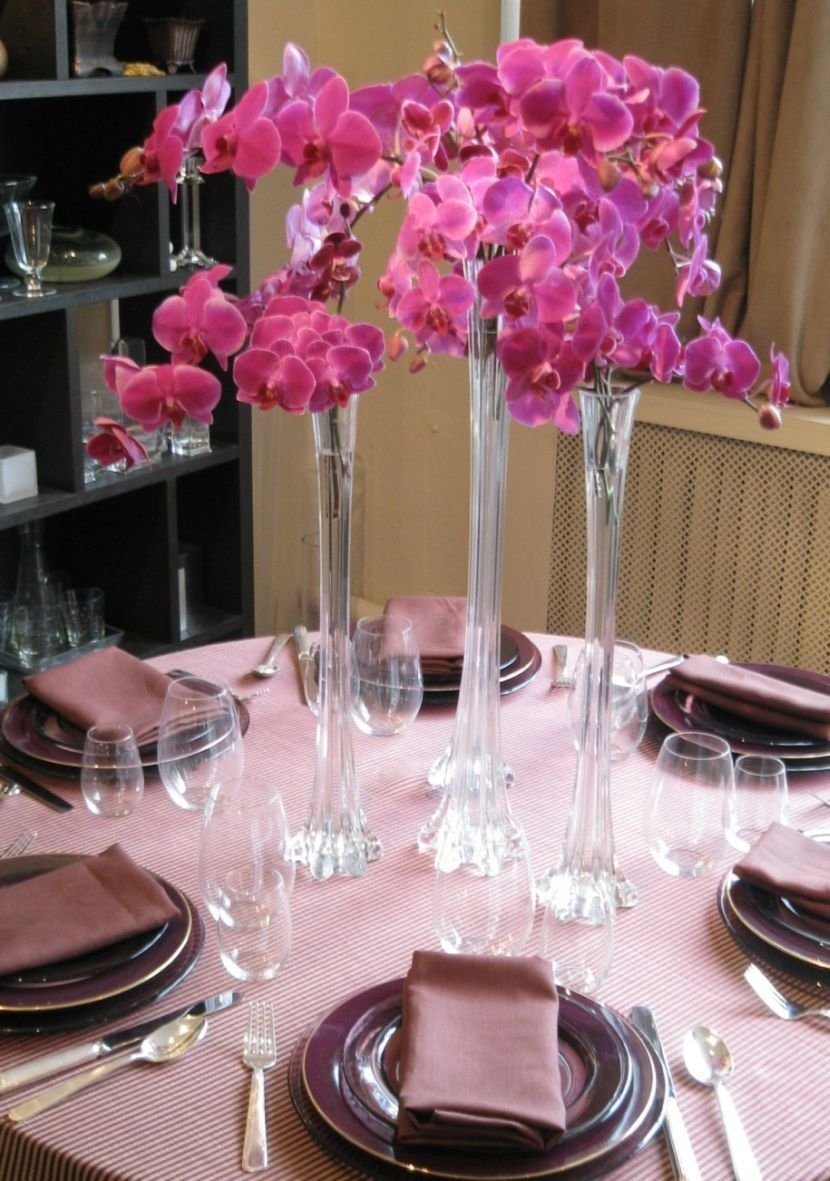 image result for tall wine glass vase centerpiece | decorations