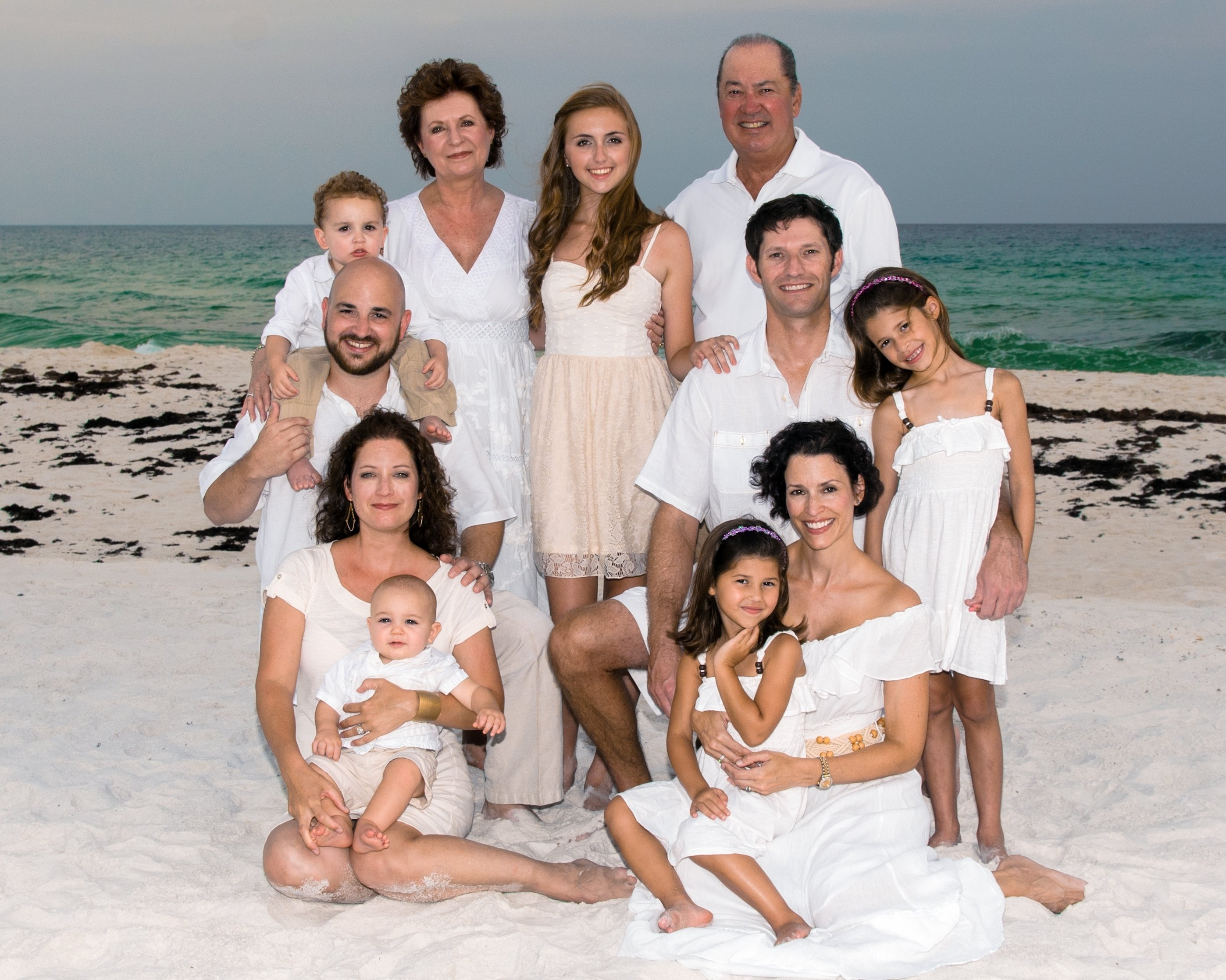 10 Awesome Large Family Photo Clothing Ideas image result for what to wear for family pictures on the beach 2021