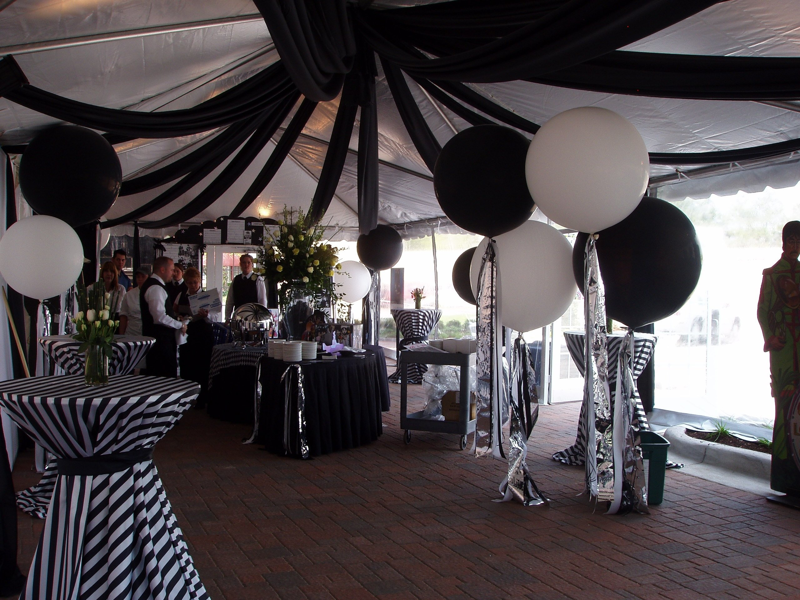 10 Stylish Black And White Party Decoration Ideas images about black and white party on pinterest theme parties 2020