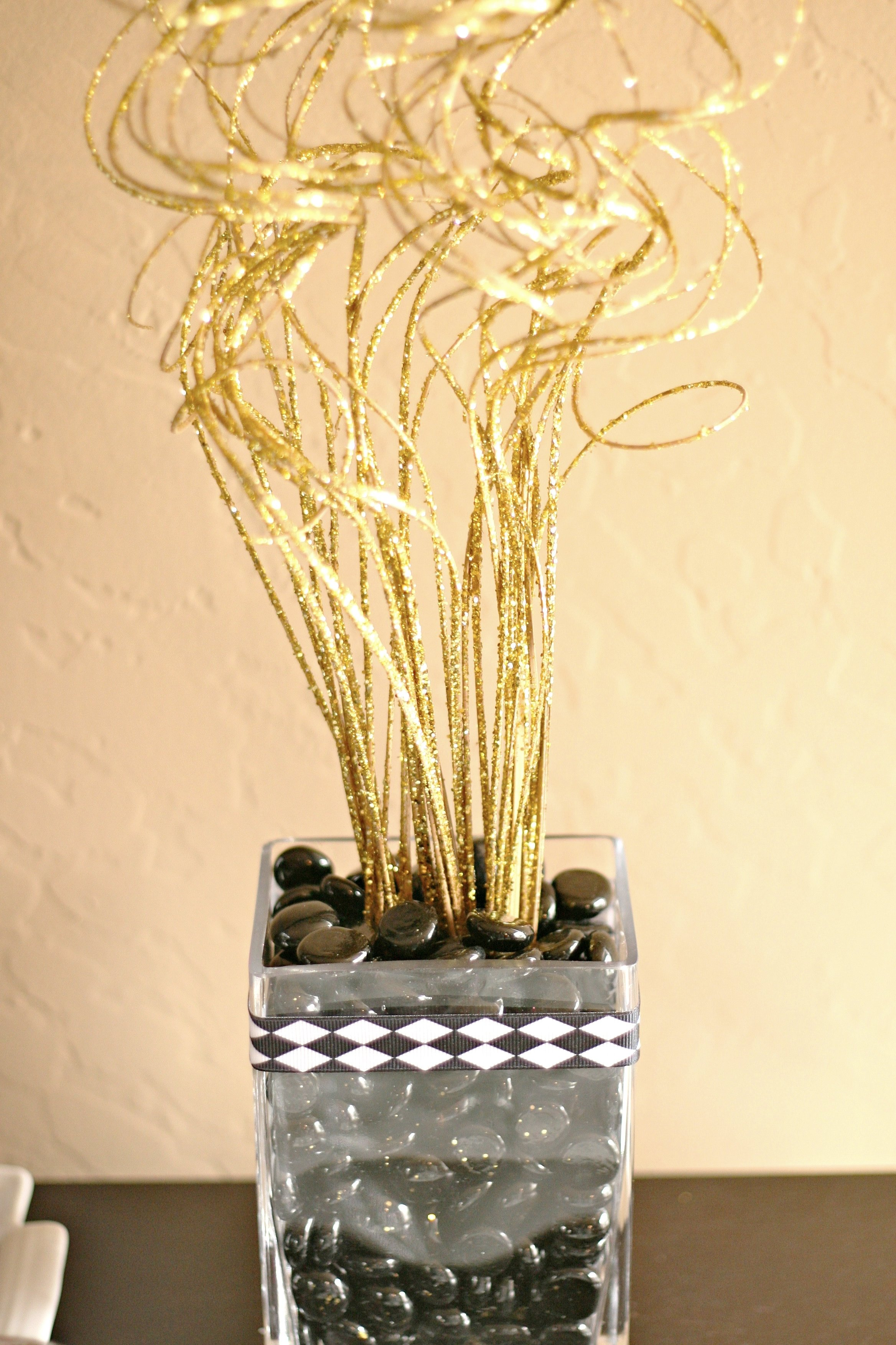 10 Most Recommended Black And Gold Centerpiece Ideas images about black gold theme on pinterest glitter and weddings idolza 2020