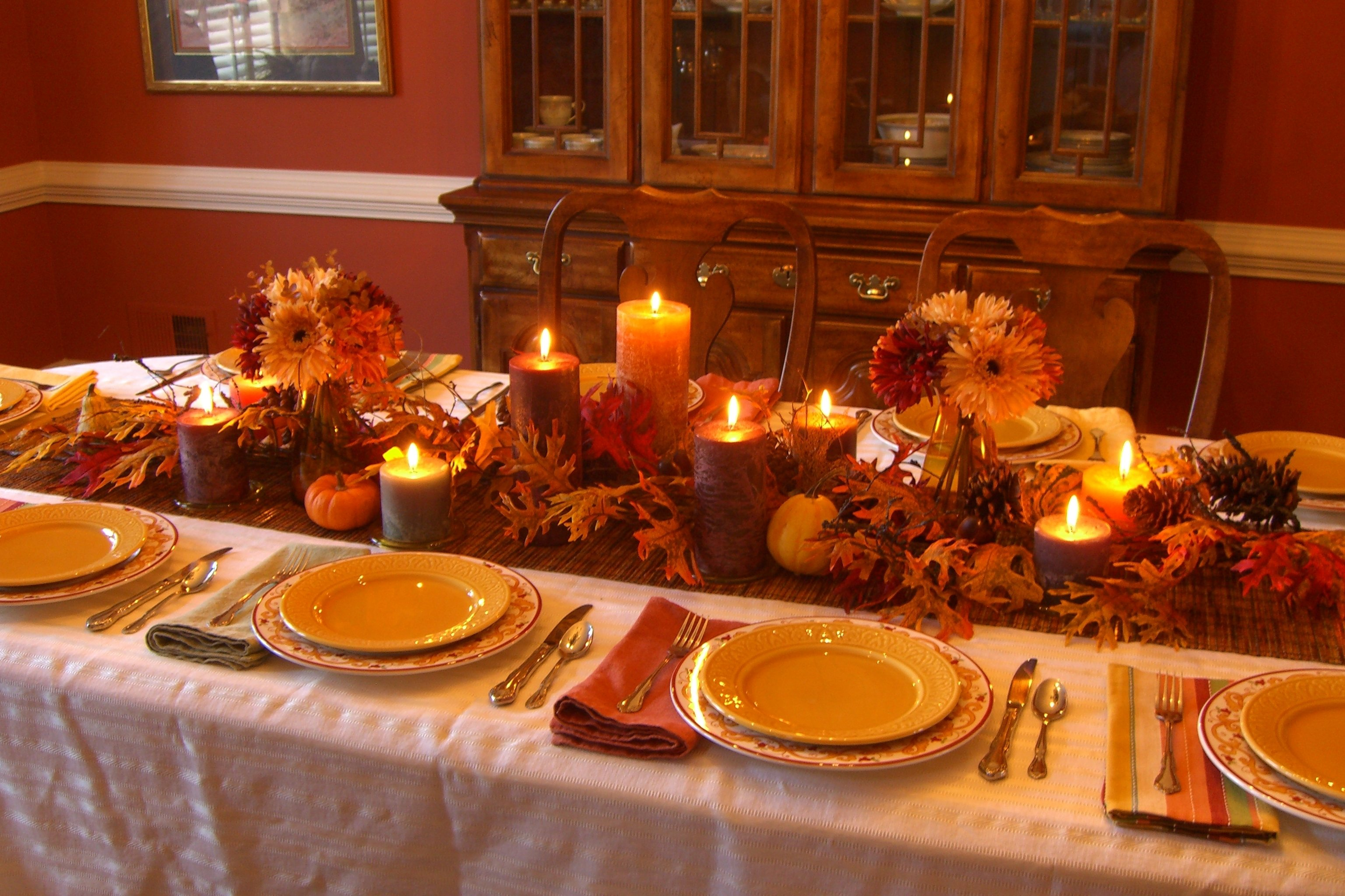 10 Wonderful Thanksgiving Table Setting Ideas Easy images about decorating with nuts for holidays on pinterest