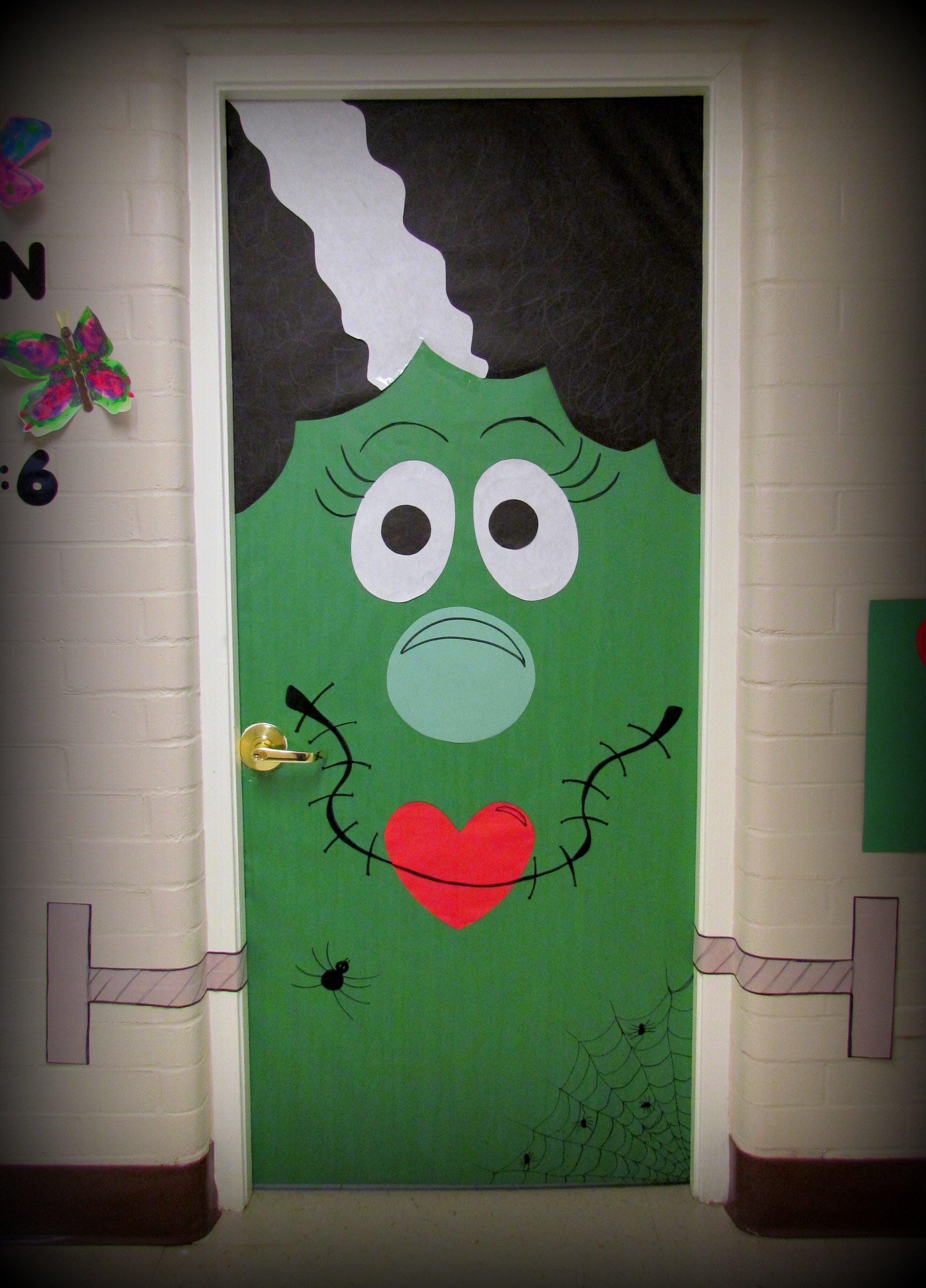10 Fabulous Halloween Door Decorating Contest Ideas