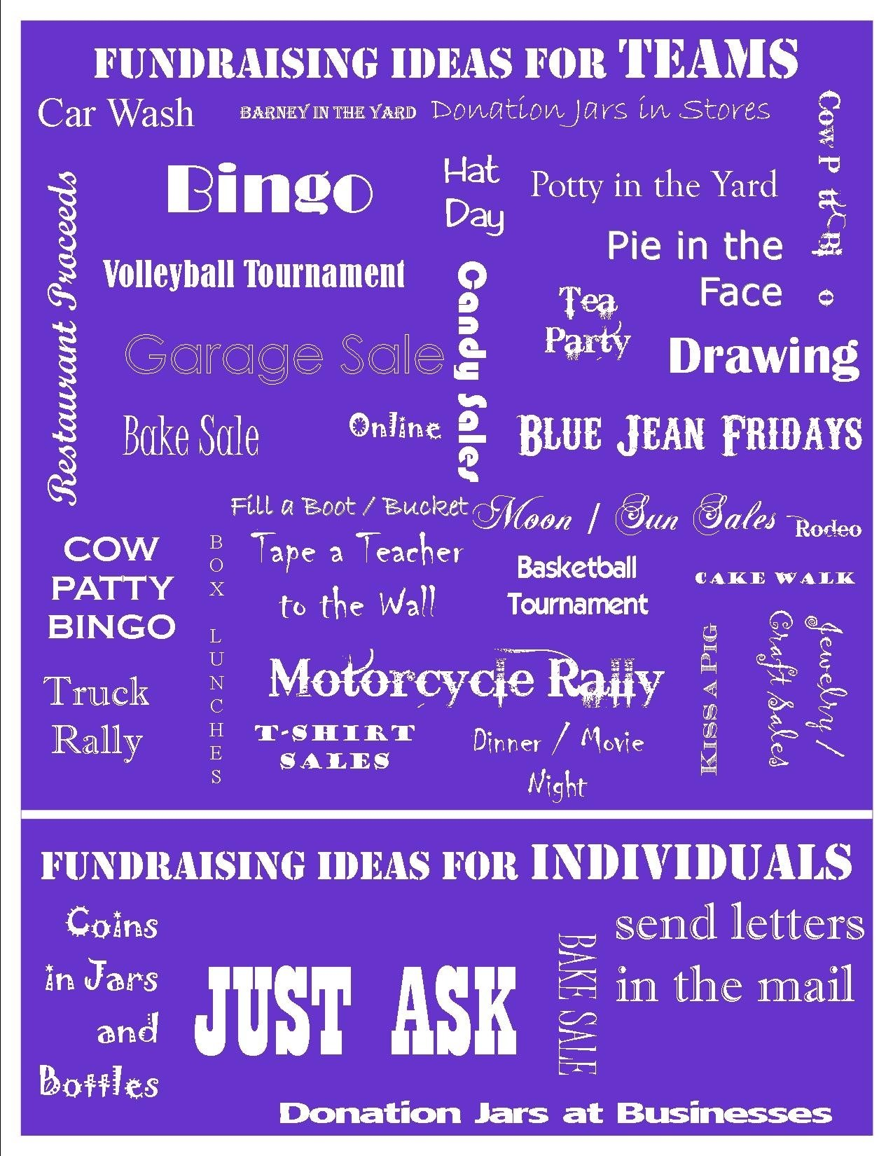 10 Most Recommended Relay For Life Fundraiser Ideas images about fundraising ideas on pinterest relay for life 2021