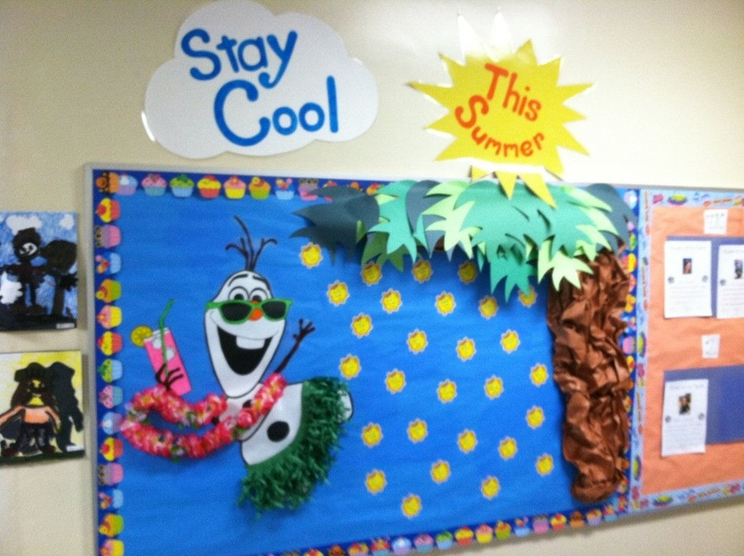 10 Stunning Bulletin Board Ideas For Summer images about summer door decorations bulletin boards ideas board for 2021