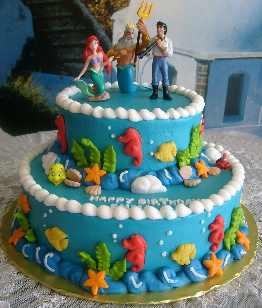 10 Great Little Mermaid Birthday Cake Ideas images for little mermaid party ideas pinterest time to make a 2021