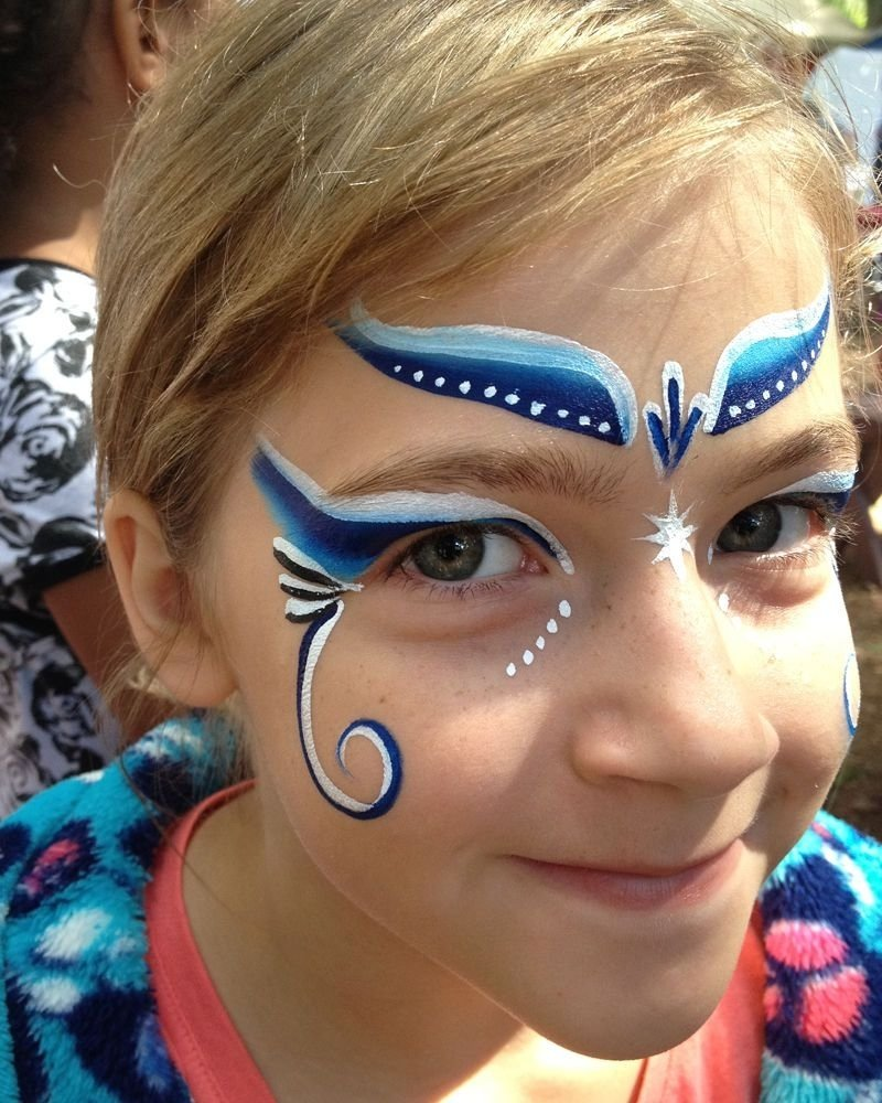 10 Lovely Face Paint Ideas For Girls images for simple face painting designs for girls face painting 1 2020