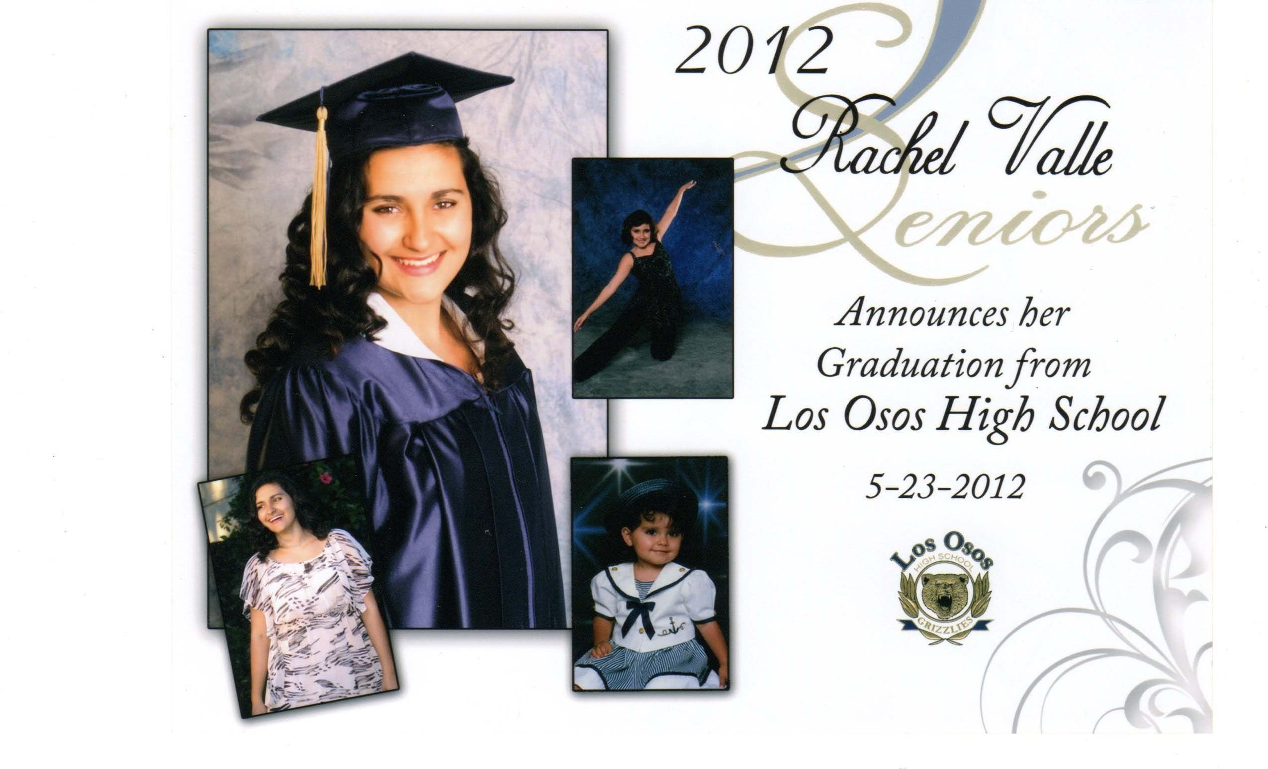 images for > traditional high school graduation announcements