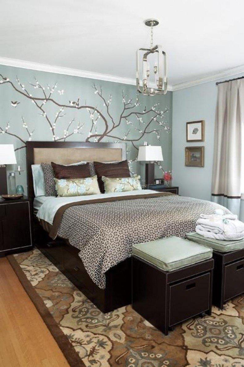 10 Elegant Blue And Brown Bedroom Ideas imaginative comfortable blue brown bedroom decosee 2020