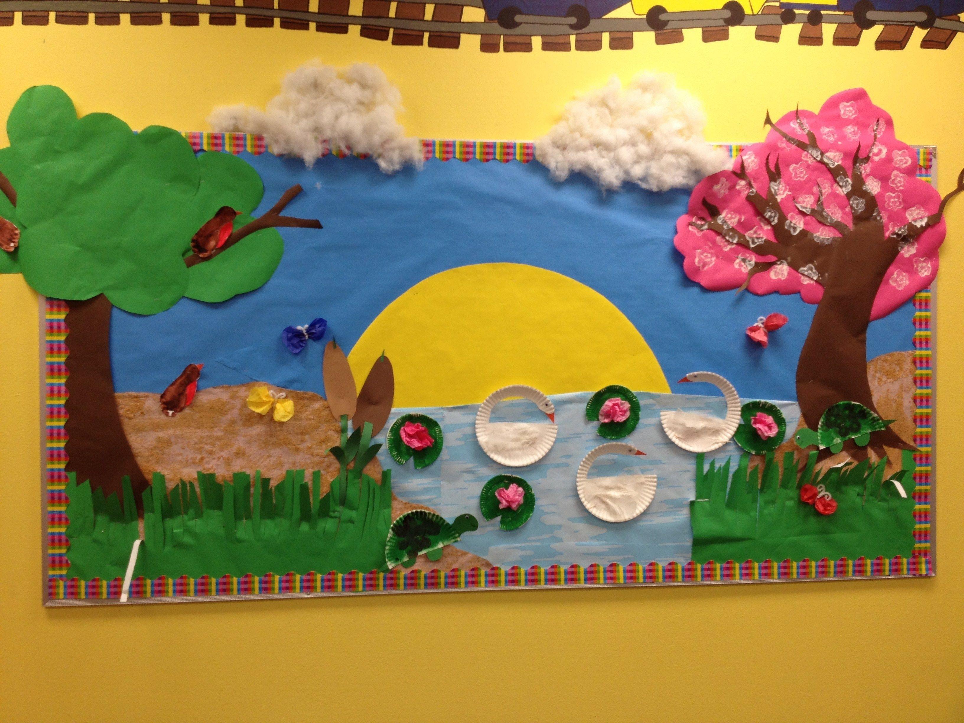 10 Lovable Preschool Spring Bulletin Board Ideas img 0999 3264x2448 pixels bulliten boards pinterest 2020