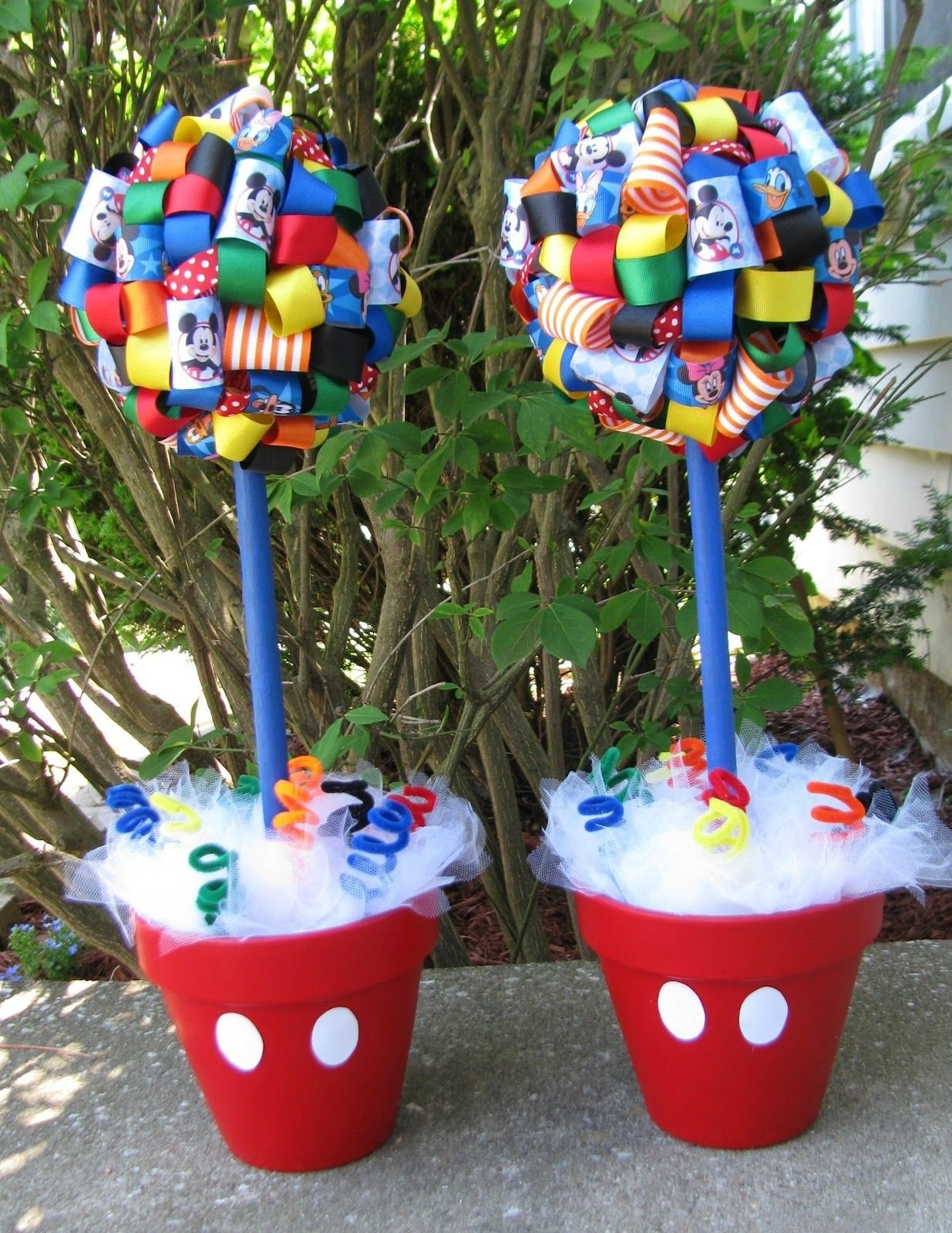 10 Attractive Mickey Mouse Clubhouse Birthday Party Ideas 2 Year Old Img 8707 1235xst