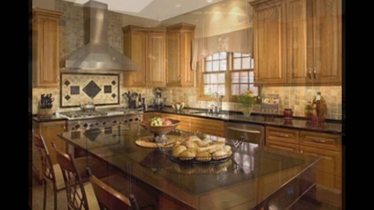 10 Stylish Backsplash Ideas With Black Granite Countertops impressive backsplash for dark countertops ideas black oak cabinets 2020