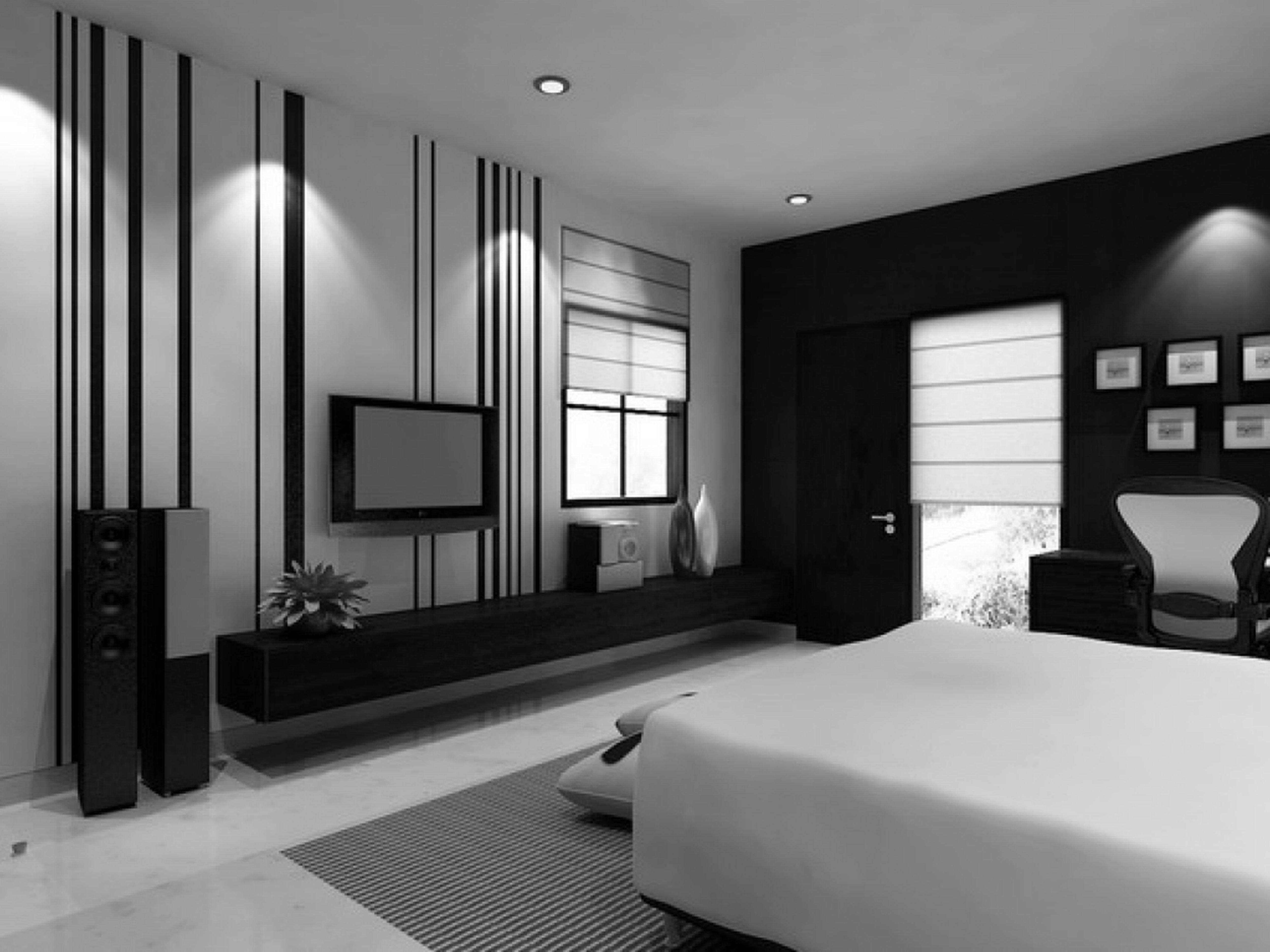 10 Wonderful Black And White Bedroom Ideas impressive black and white bedroom design about interior decor ideas 2020