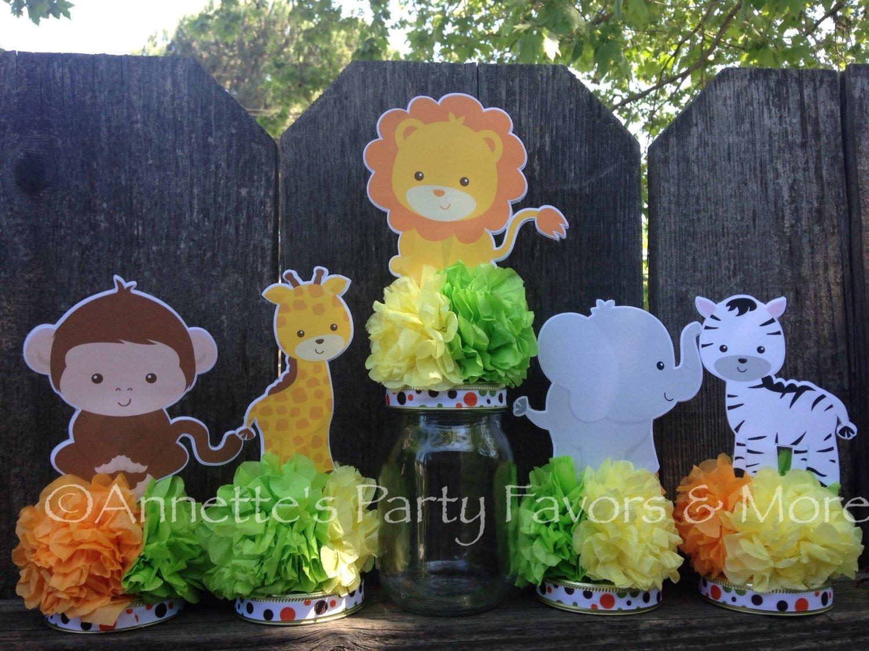 10 Great Jungle Safari Baby Shower Ideas impressive design jungle safari baby shower decorations astounding