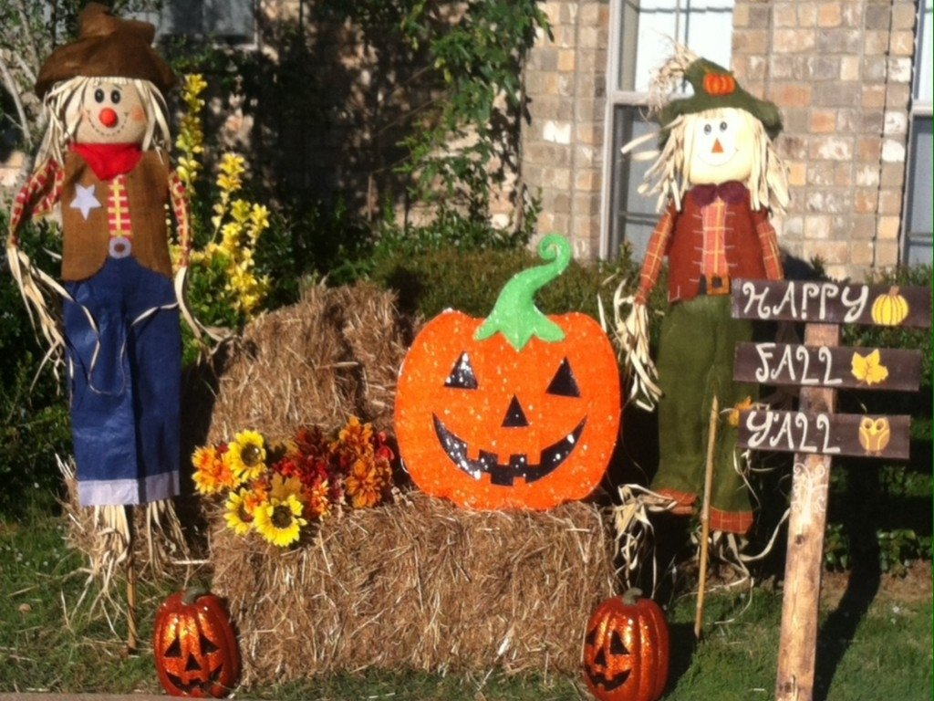 10 Awesome Fall Decorating Ideas For Outside impressive fall yard decorating ideas home design ideas fall 2020