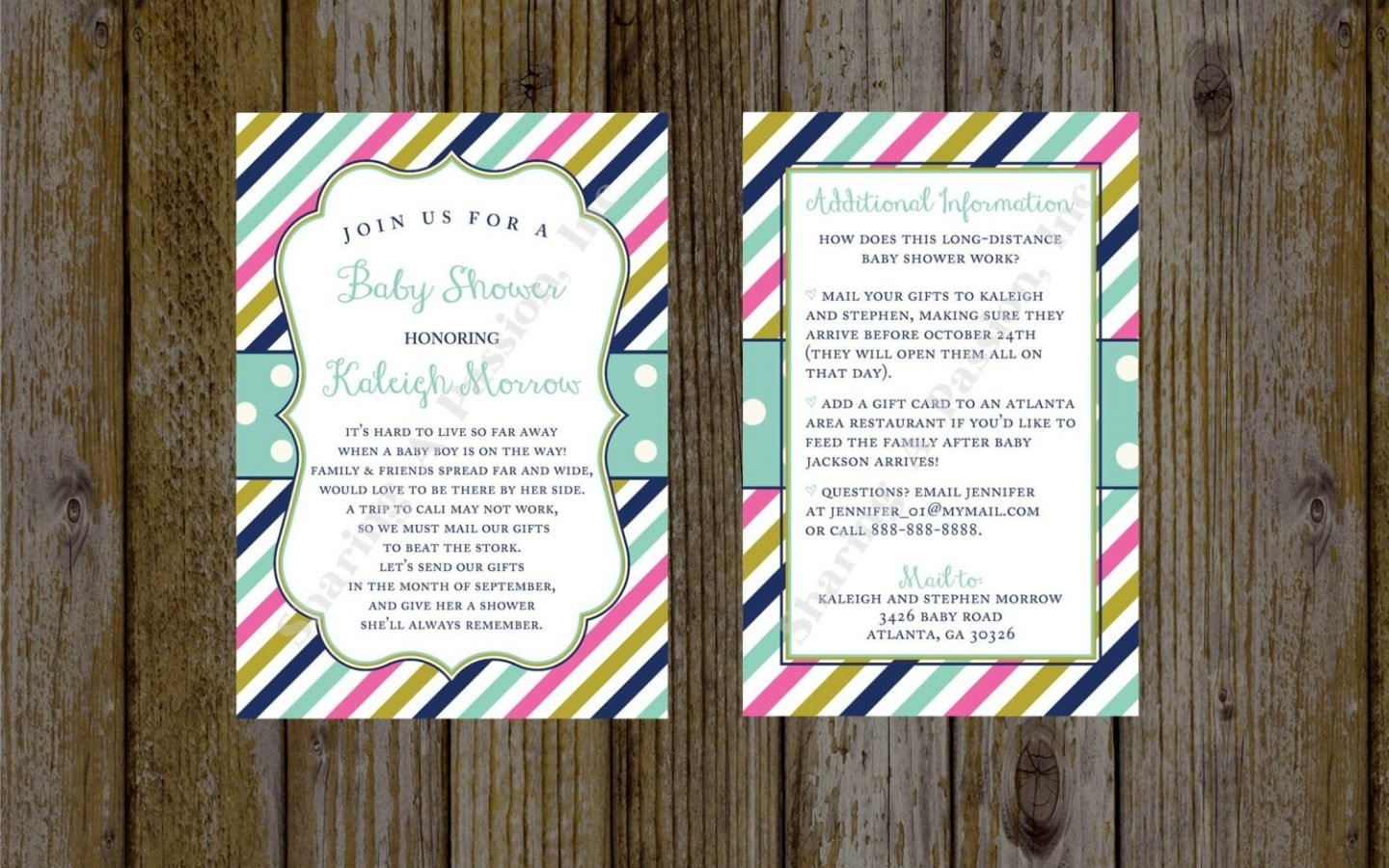 10 Cute Long Distance Baby Shower Ideas impressive microsoft baby shower invitations exactly luxurious 2020