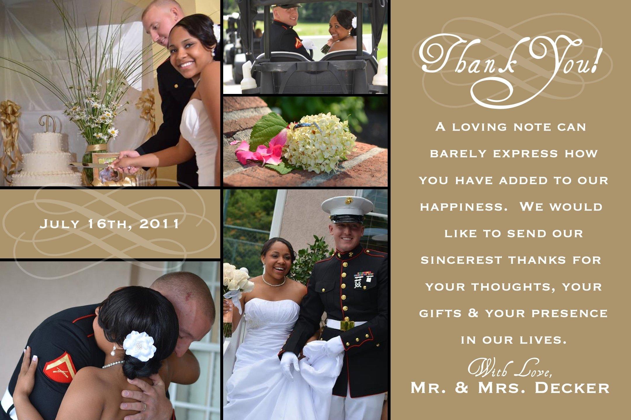 10 Lovely Wedding Thank You Card Ideas impressive wedding thank you wedding thank you card ideas 2020