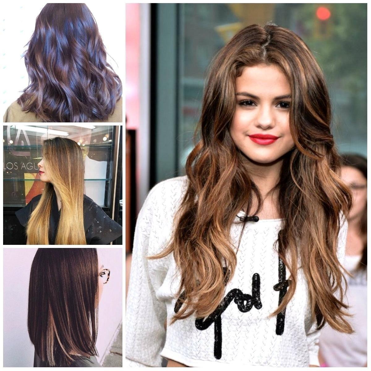 10 Famous Hair Dye Ideas For Dark Hair improbable color ideas dark brown light and dark brown hair color 1 2021
