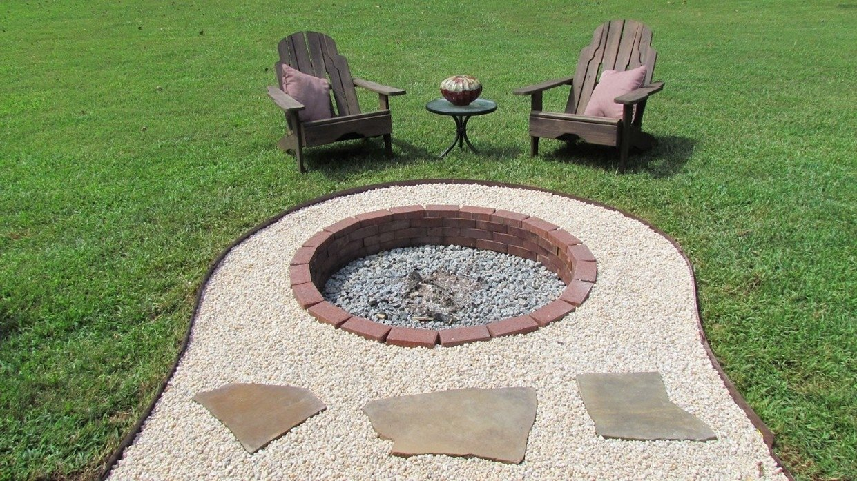 10 Fantastic In Ground Fire Pit Ideas in ground fire pit designs ideas 2020