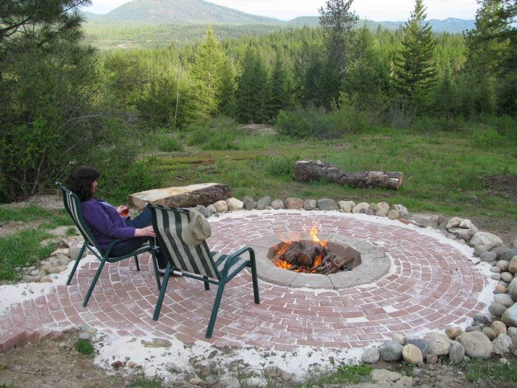 10 Fantastic In Ground Fire Pit Ideas in ground fire pit ideas small design idea and decorations in 2020
