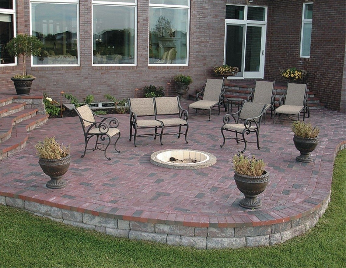 10 Fantastic In Ground Fire Pit Ideas in ground fire pit ideas 2020