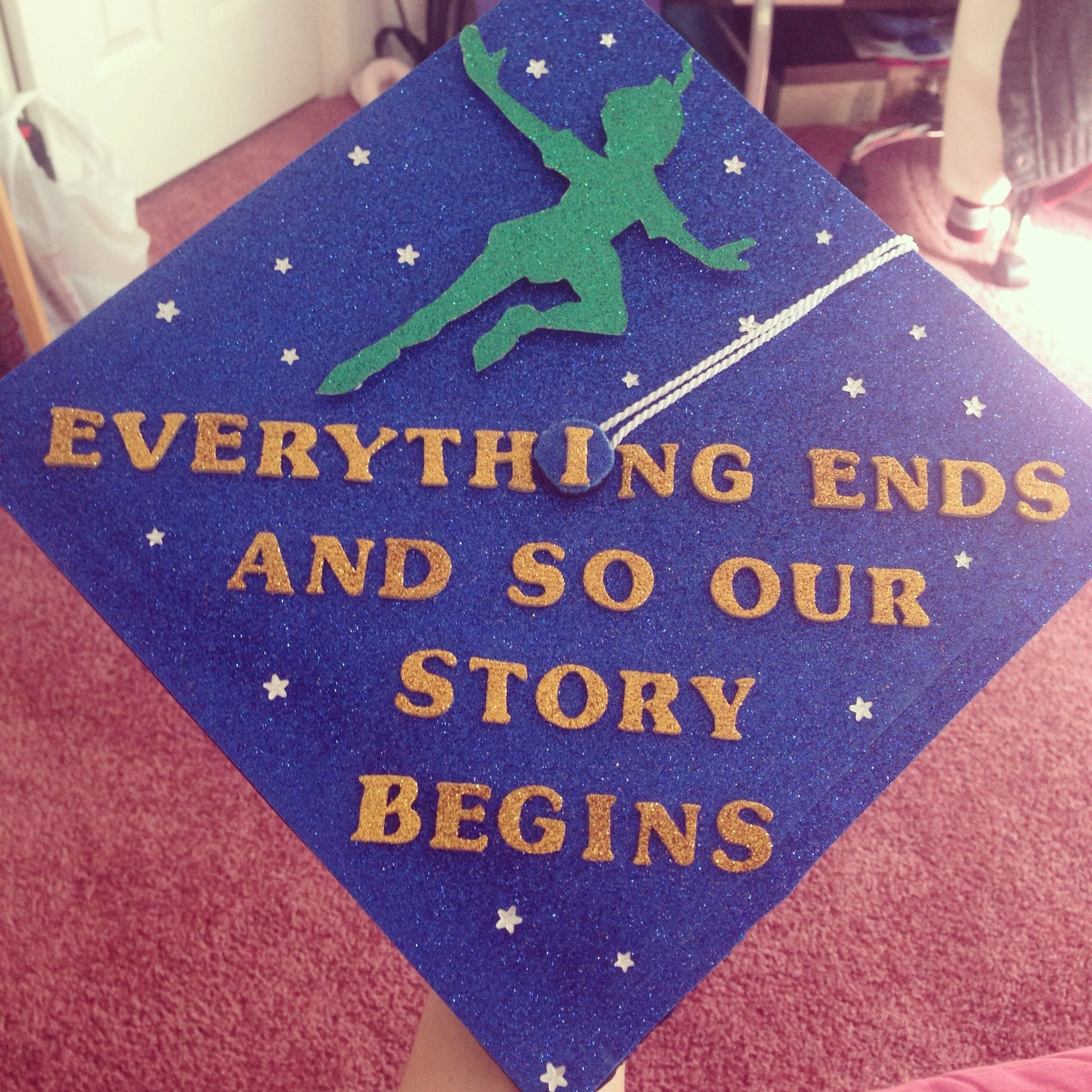 10 Lovely High School Graduation Cap Decoration Ideas in honor of everyone graduating this week here is my graduation cap 2020