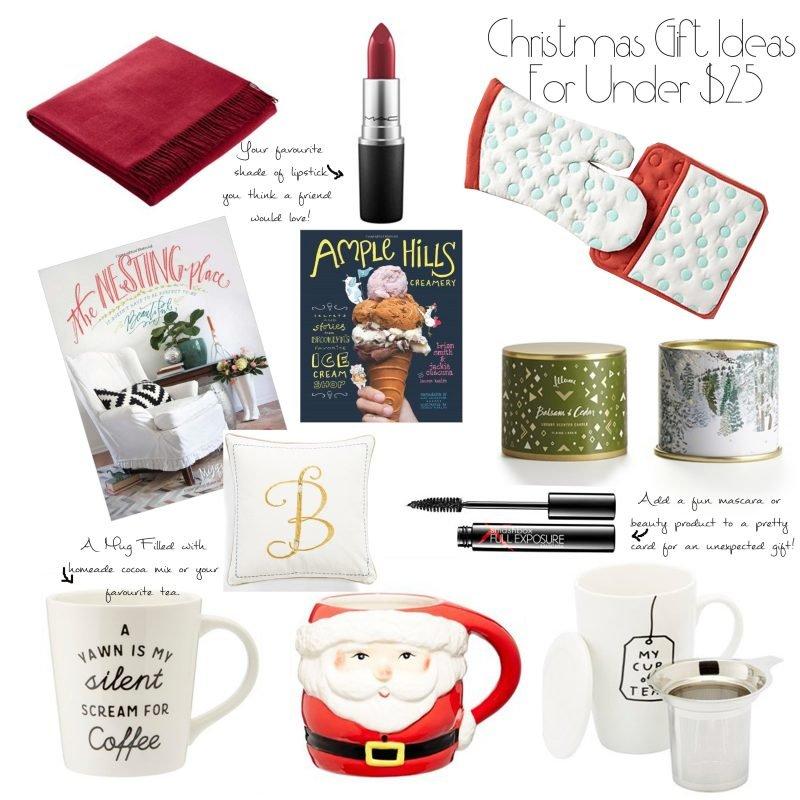 10 Unique Gift Ideas Under 25 Dollars