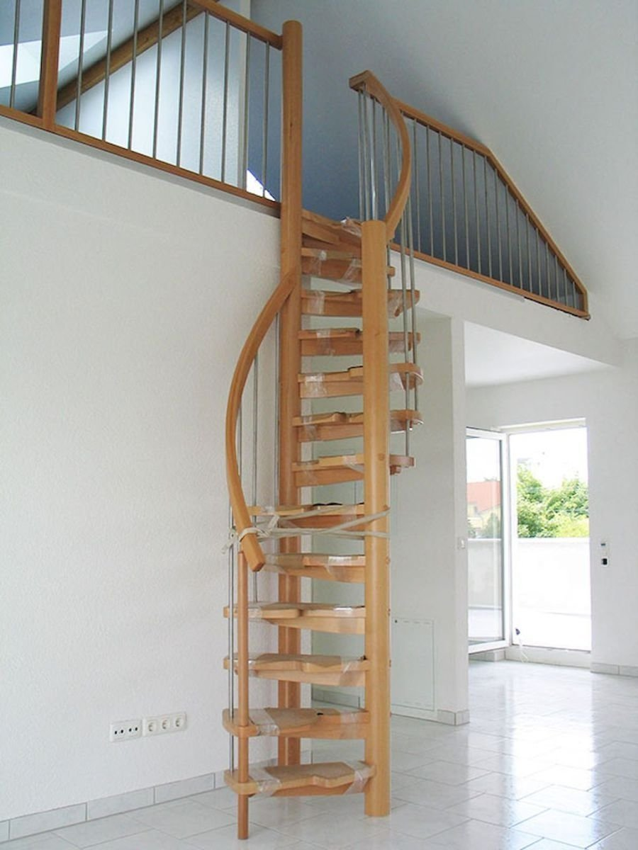 10 Famous Staircase Ideas For Small Spaces incredible loft stair ideas for small room 62 escaliers espaces 2020