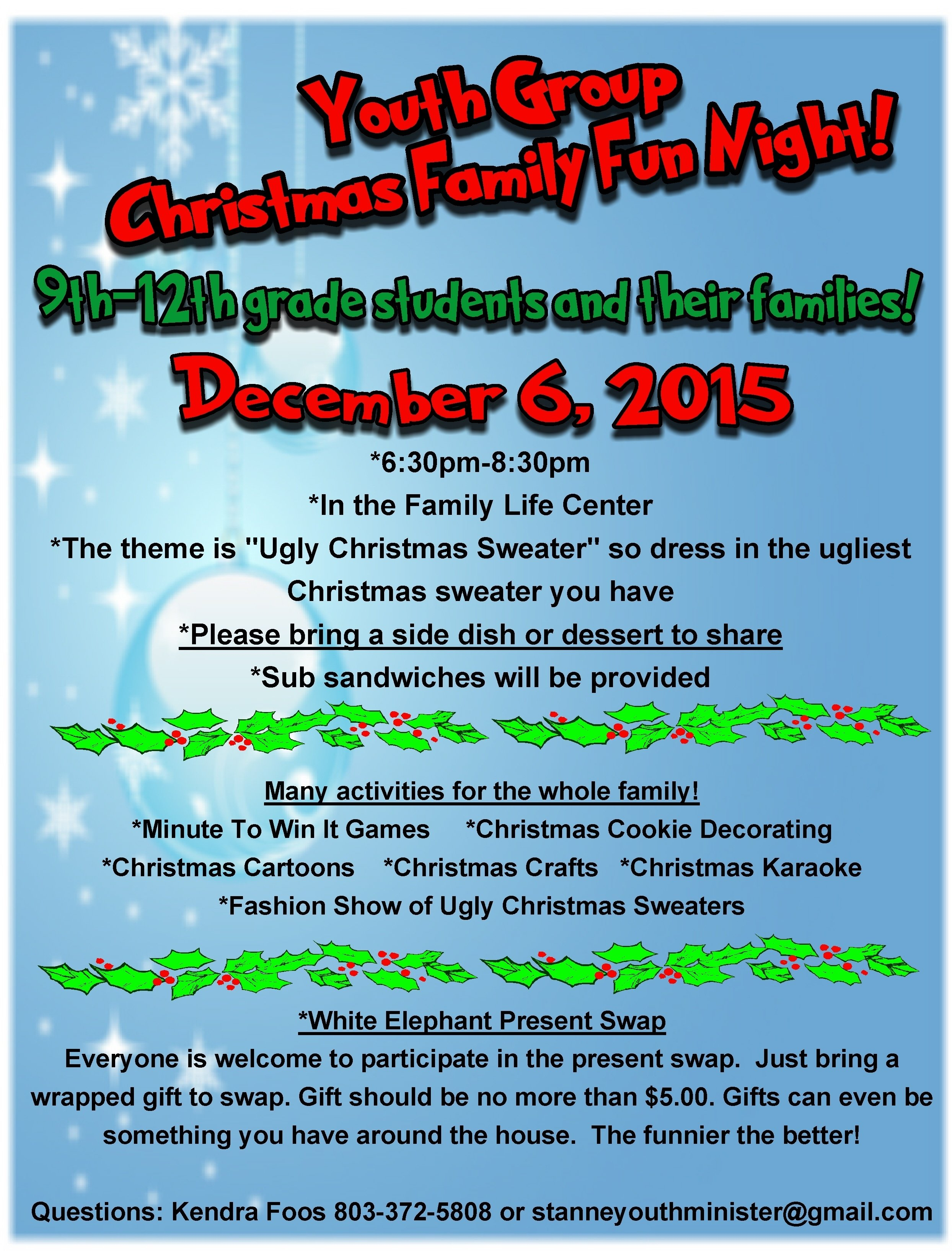 10 Best Youth Group Christmas Party Ideas index of wp content uploads 2015 11 2021