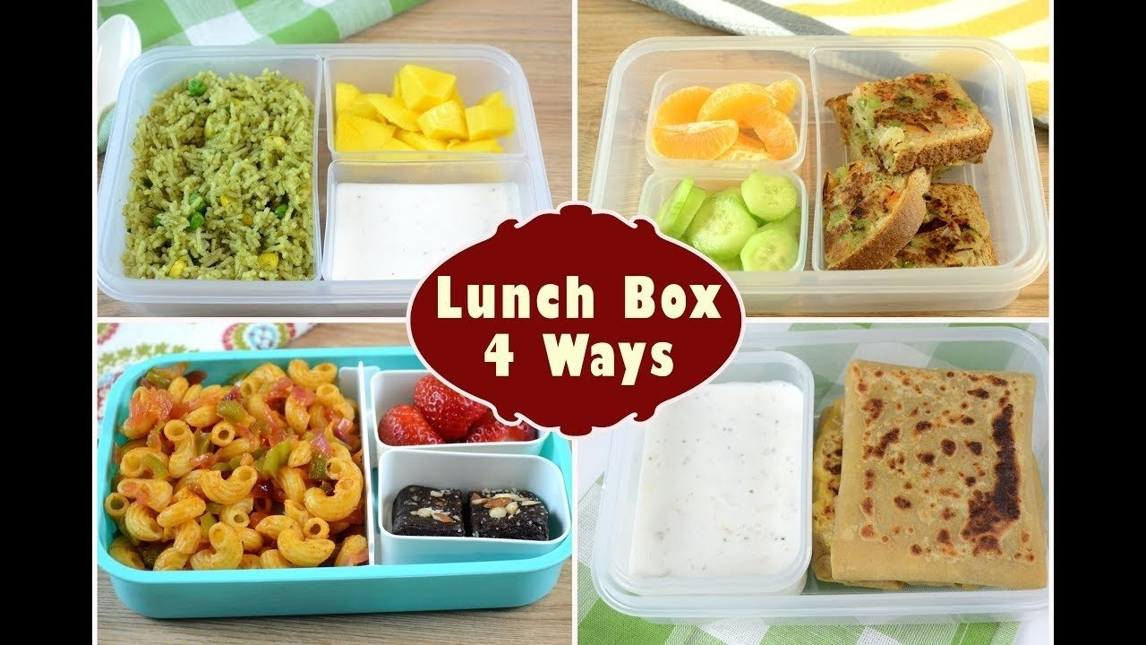 indian lunch box ideas - part 2 | kids lunch box recipes | quick