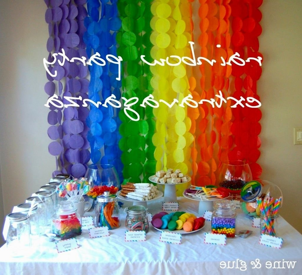 inexpensive birthday party centerpiece ideas - decorating of party