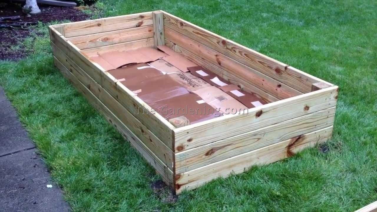 inexpensive raised garden bed ideas - cadagu | gardening