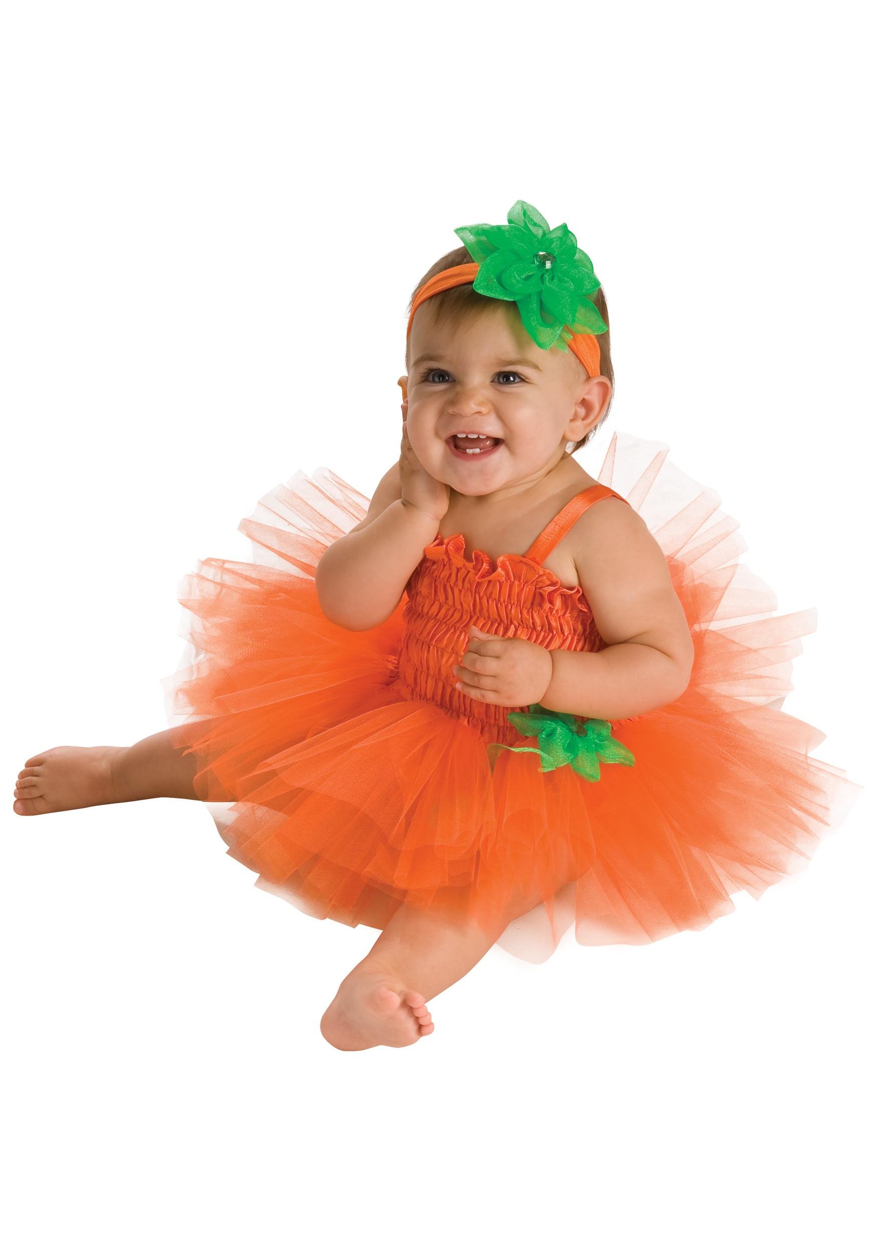 10 Wonderful Baby Costume Ideas For Girls infant pumpkin tutu dress costume 2021
