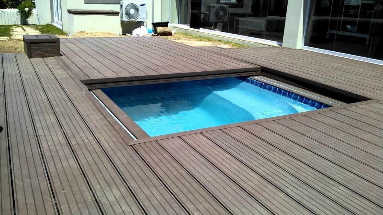 10 Elegant Pool Deck Ideas For Inground Pools inground pool deck ideas wooden around backyard design dragonswatch 2021