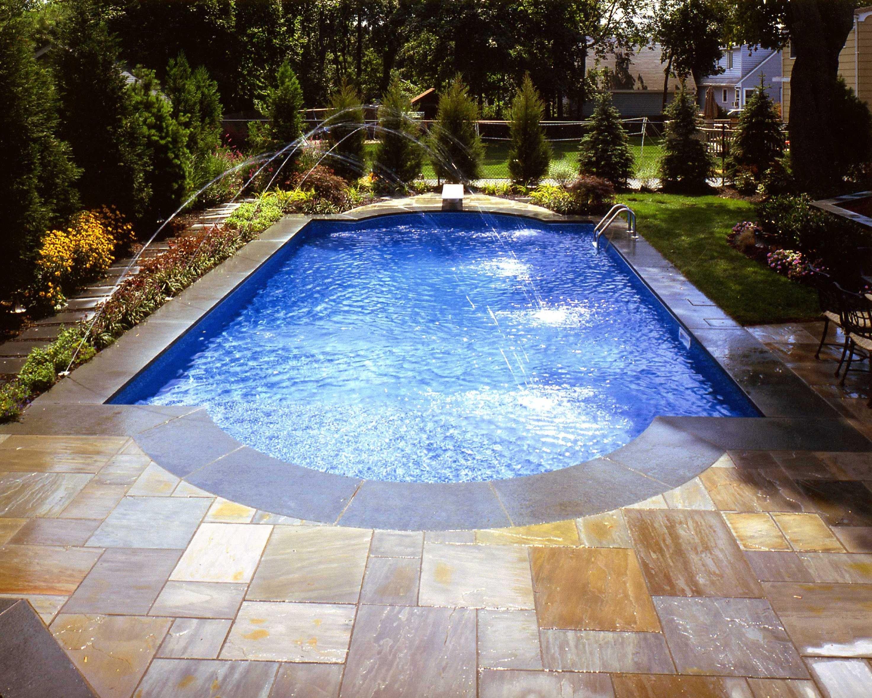 10 Elegant Pool Deck Ideas For Inground Pools inground swimming pool deck ideas dma homes 30702 2021