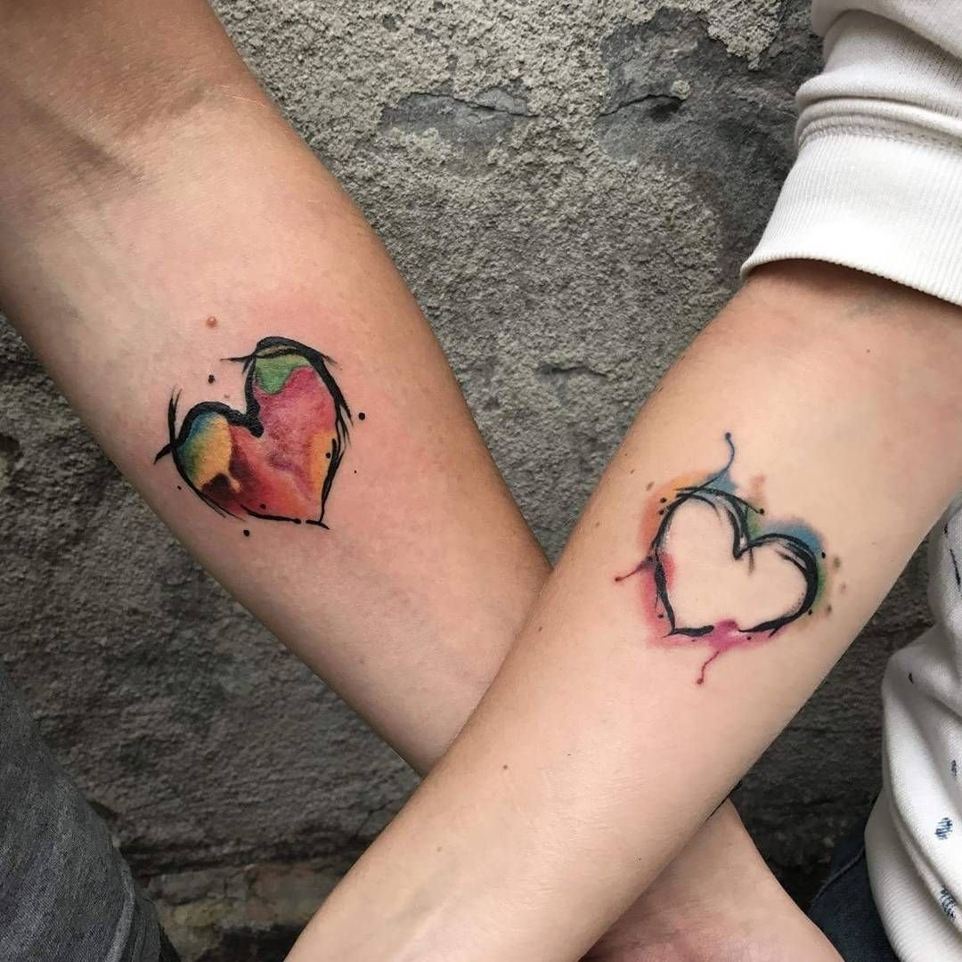 ink your love with these creative couple tattoos | couples matching