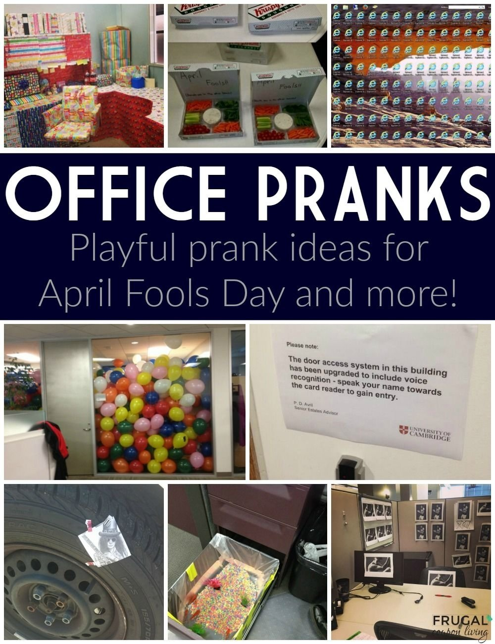 innocent and playful april fools prank ideas | office prank ideas
