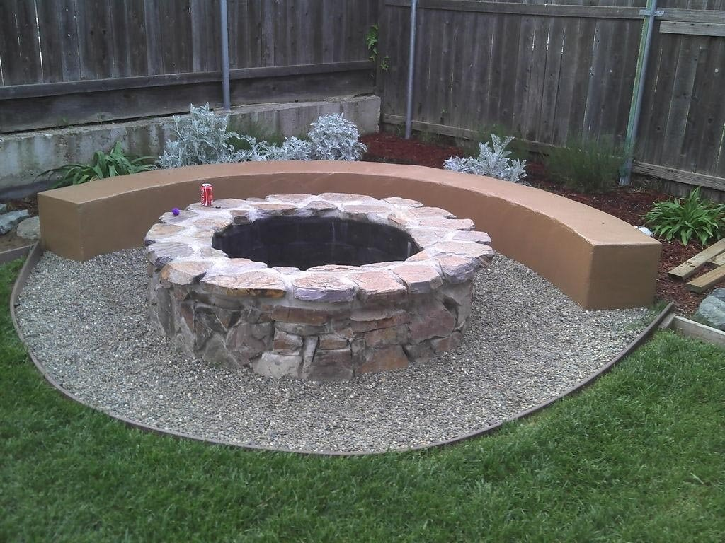 10 Fashionable Homemade Outdoor Fire Pit Ideas innovative and fire pit using concrete tree steps to bodacious fire 2021
