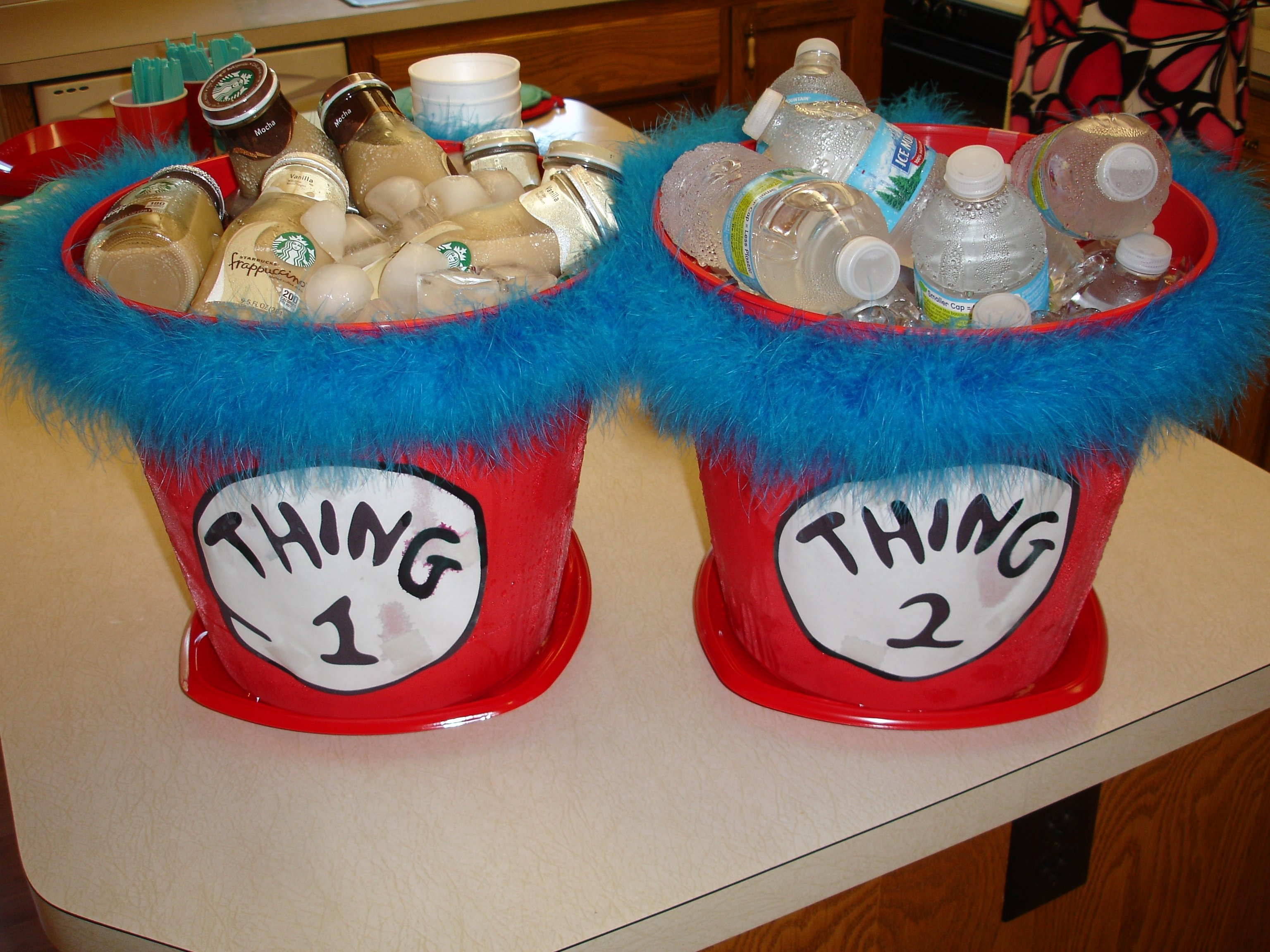 10 Beautiful Thing 1 Thing 2 Party Ideas